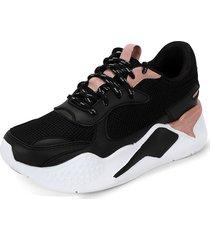 tenis  dama negro*rosa tellenzi 447,