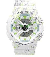 reloj casio ga-110wg-7ad anadigi 100% original-gris