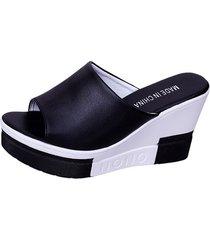 zapatillas de gamuza para mujer plataformas de goma cuñas zapatillas