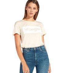 t-shirt korte mouw wrangler w7016d