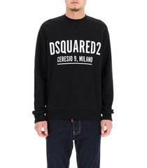dsquared2 ceresio 9 print sweatshirt