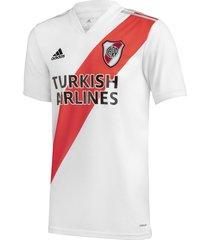 camiseta blanca adidas oficial river plate titular 20/21