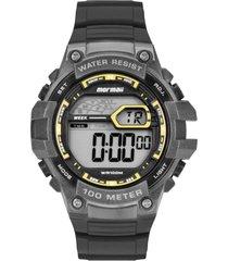 relógio mormaii digital acqua mo3480ab8y preto