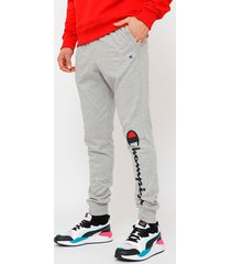 jogger champion classic jersey with graphic gris - calce regular