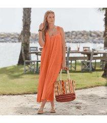 sundance catalog women's day trip dress in coral xs