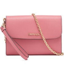 calvin klein hailey wallet on a chain convertible crossbody