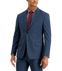 ax armani exchange men's slim-fit wool suit separate jackets
