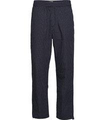 halsey trousers casual broek vrijetijdsbroek blauw wood wood