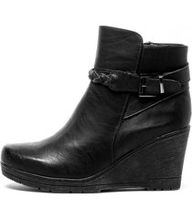 botin dominga black chancleta