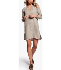 linen peasant dress