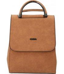 mochila mujer dirk marrón azaleia