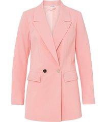 blazer lungo oversize (rosa) - bodyflirt