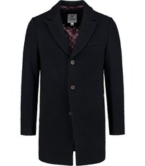 coat wool boucle navy (101248 - 649n)