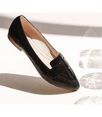 baleta punta grecia negro