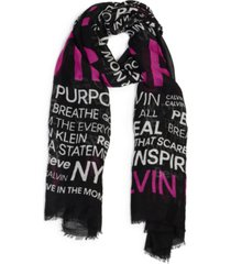 calvin klein mantra pinnacle oversized wrap scarf