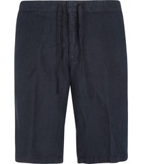 z zegna tie-waist plain shorts