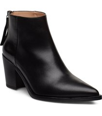 mirte_na shoes boots ankle boots ankle boots with heel svart unisa