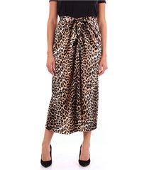 f36541777 lange rok luipaard print