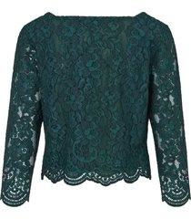 blouse van uta raasch groen
