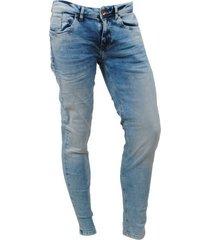 cars heren jeans slim fit stretch lengte 32 blast stone fancy used blauw