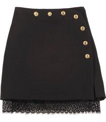 givenchy wool mini skirt