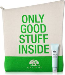 receive a free tote and treat with any $65 origins purchase