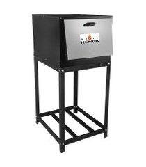 forno á gás kenok fc104b.909 master baixa pressão 104 litros com cavalete