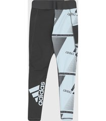 leggings gris-blanco adidas performance ights for intense workouts