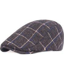 berretto beret per berretti da viaggio casual da uomo in cotone caldo regolabile regolabile da uomo