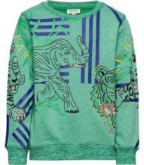 julian sweat-shirt trui groen kenzo