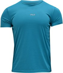 camiseta running fila hombre run classics azul