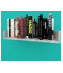 estante de livros nichos modernos em mdf rústico