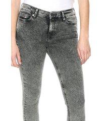 jean gris-negro tommy jeans