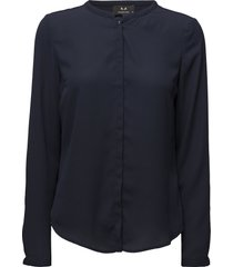cyler shirt blouse lange mouwen blauw modström