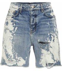 amiri bleached painter shorts