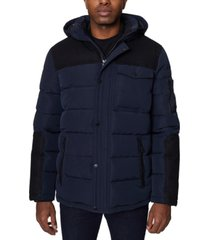 nautica men's parka with attached hood