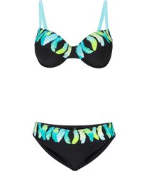 bikini con ferretto (nero) - bpc selection