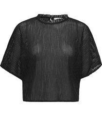 kalista blouses short-sleeved svart mango