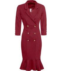 abito elegante di jersey (rosso) - bodyflirt boutique