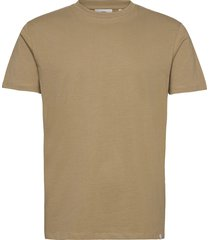 aarhus t-shirts short-sleeved beige minimum