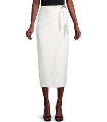 in the ring wrap skirt