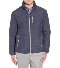 men's cutter & buck rainier classic fit jacket, size x-large - grey