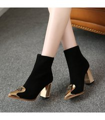 pb179 luxe gold booties, genuine leather, us size 3-9.5, black