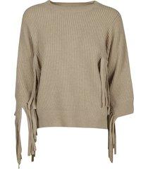 stella mccartney tasseled knit sweater