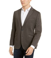 kenneth cole reaction men's slim-fit stretch knit sport coat