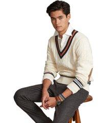 polo ralph lauren men's cotton-cashmere cricket sweater