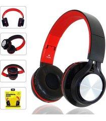 audífonos, fe-006 auriculares plegables con mic-negro