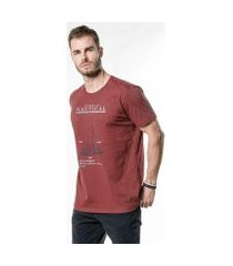camiseta cia gota nautical masculina