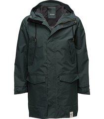 mens rain jacket from the sea tunn jacka grön tretorn