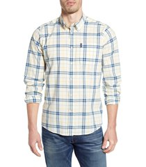 men's barbour madras 4 tailored fit check button-up shirt
